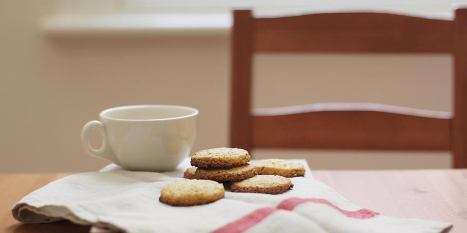 polenta cookies slider