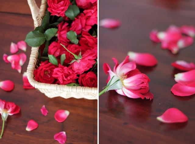 Rose Petal Cake Decoration