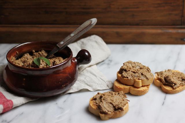 crostini di fegatini Artusi recipe