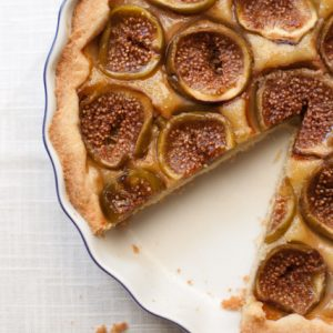 Fig Frangipane Tart and falling for Florence