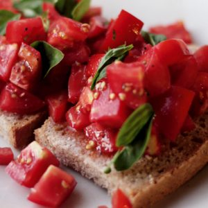 A lesson in Bruschetta