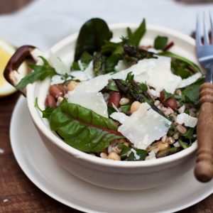 The Ideal Energy Meal: Farro Salad