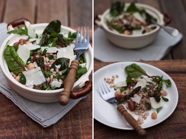 The ideal energy meal farro salad emiko davies it means choosing the right foods such as carbohydrates with a low glycemic forumfinder Image collections