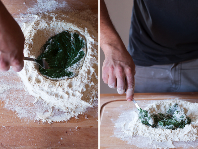 nettle pasta dough