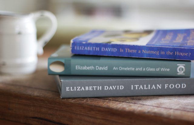elizabeth david cookbooks