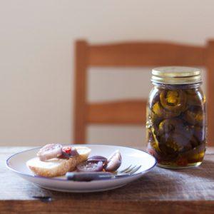 Late summer eggplants - Melanzane Sott'olio