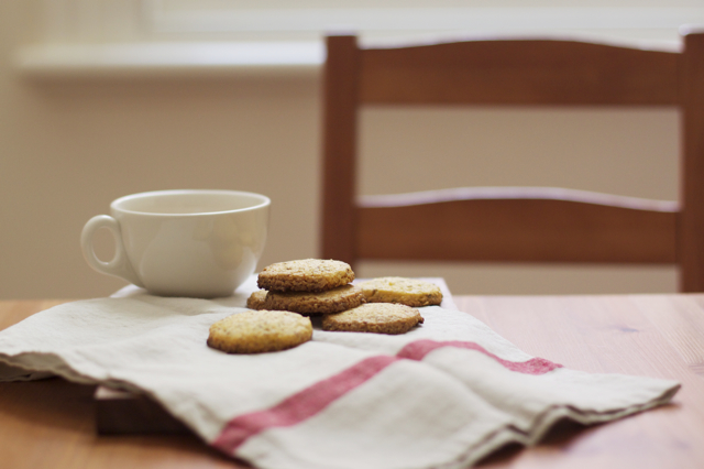 polenta cookies with elderflower feature