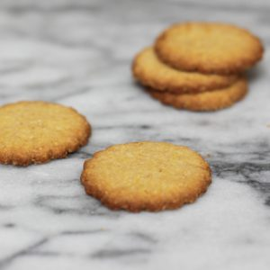 Biscotti di Meliga - another polenta cookie
