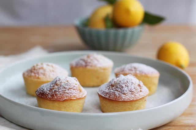 Little Lemon Polenta Cakes Emiko Davies