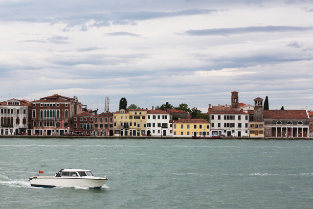 Venice from le zattere