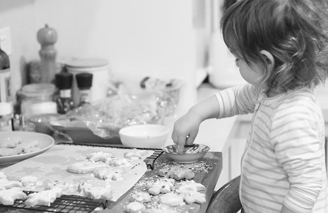 mariu making cookies