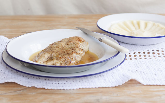 chicken in butter sostanza style