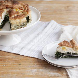 Torta Pasqualina (Ligurian Easter pie)