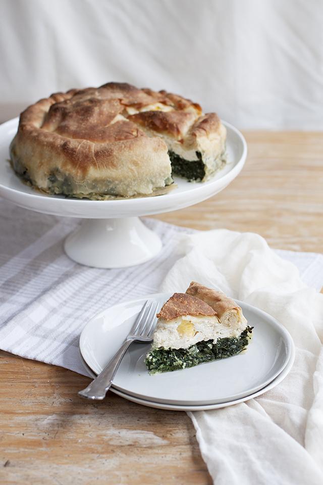 torta pasqualina - Ligurian Easter pie