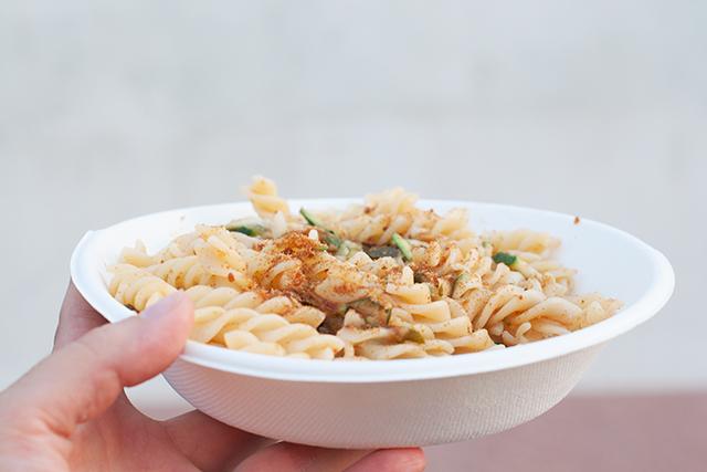 Orbetello - Fusilli with bottarga and zucchini