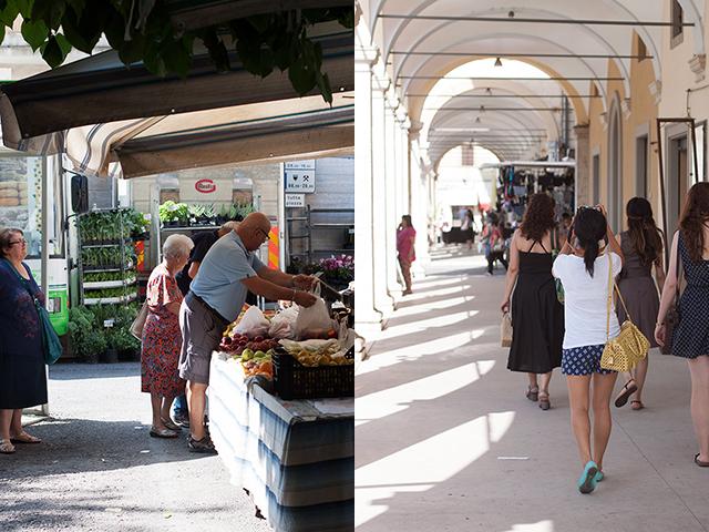 Juls Kitchen market visit Colle Val d'Elsa