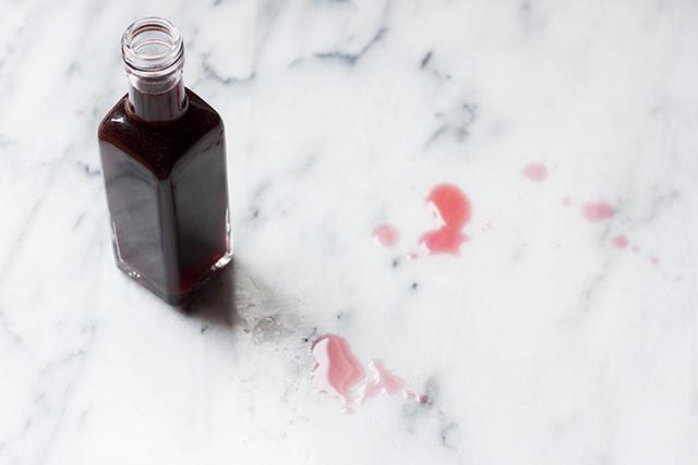 Alchermes homemade liqueur