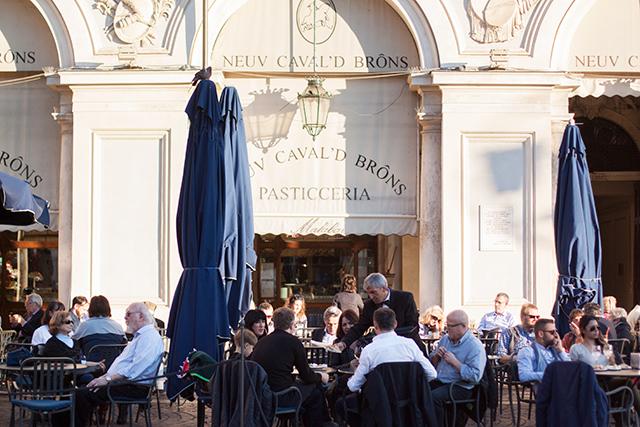 Aperitivo in Piazza San Carlo - Torino