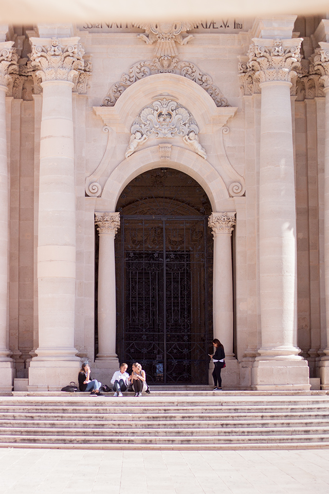 Ortigia Piazza Duomo