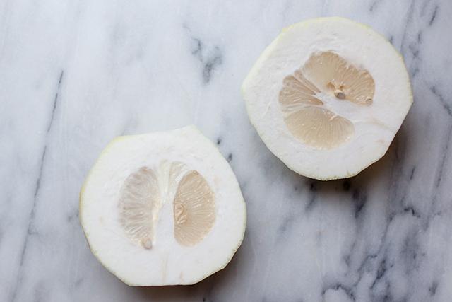 Citron rind