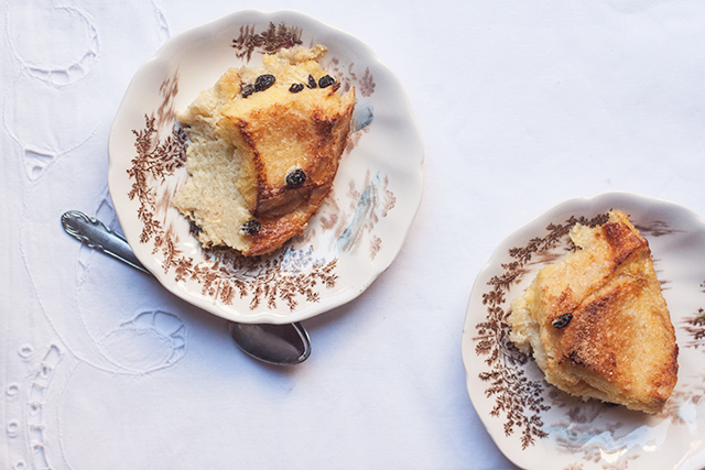 "Bread and butter pudding or ""Dolce Firenze"""