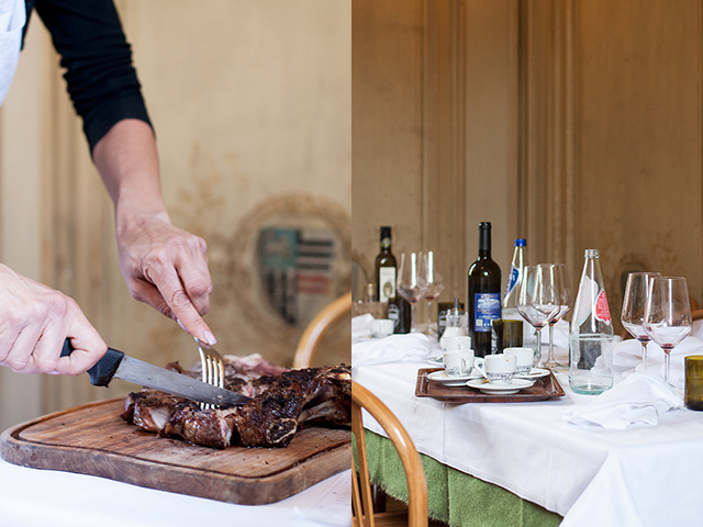 the bistecca alla fiorentina at Burde