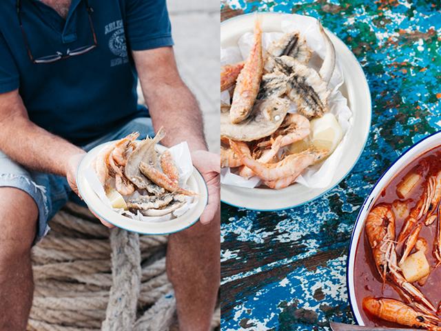 fisherman maremma zuppa di scampi