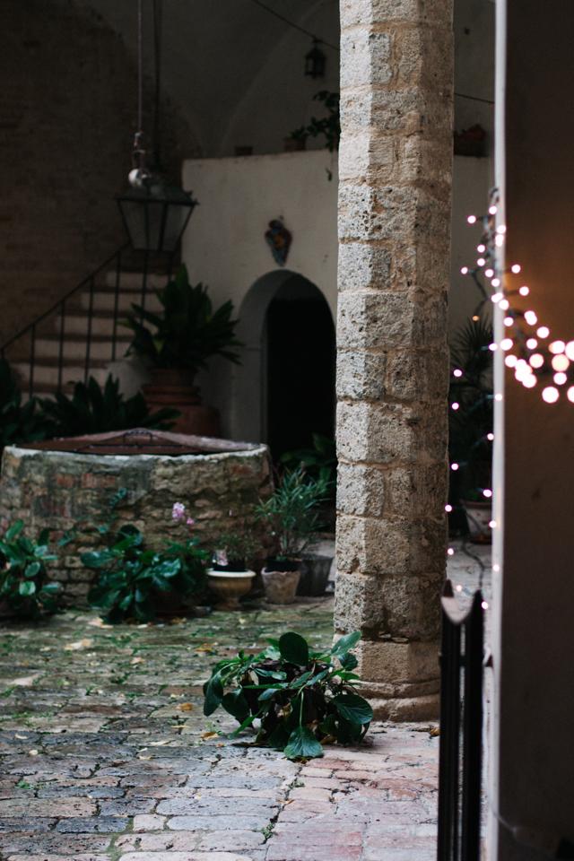 secret courtyard