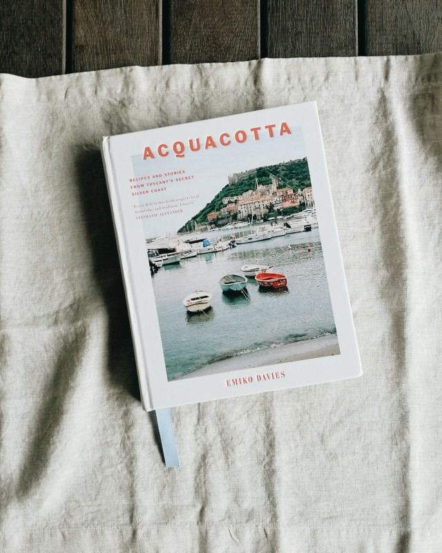 Acquacotta cookbook