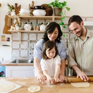 A family photo shoot with Birgitte Brondsted