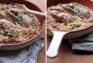 quail risotto artusi august