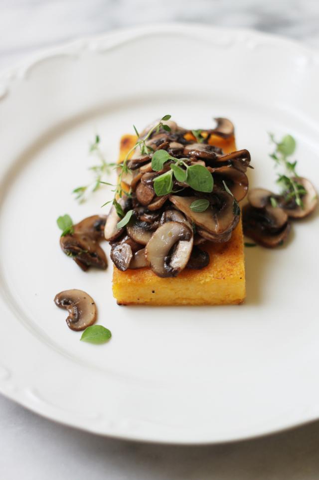polenta and mushroom crostini blog