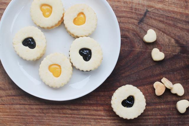 gluten-free occhi di bue cookies