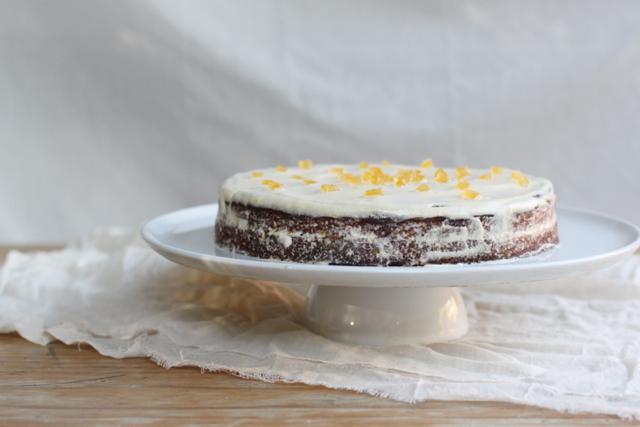 torta di noci - walnut with buttercream