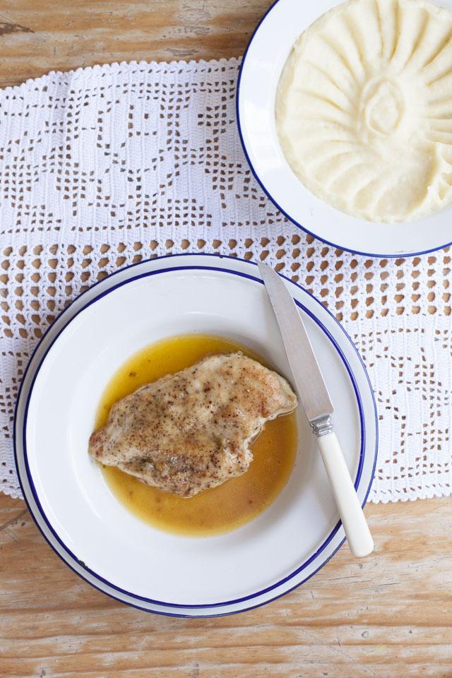 chicken in butter elizabeth david