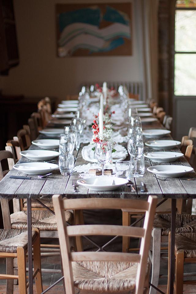 Tuscan Gathering table