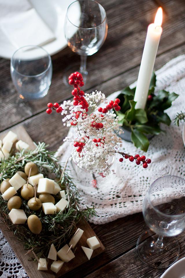 Tuscan Gathering table setting