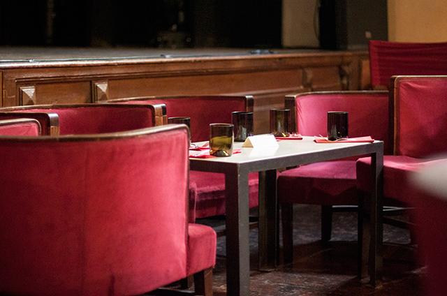 Teatro del Sale Seating