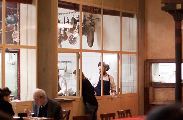 Teatro del Sale kitchen
