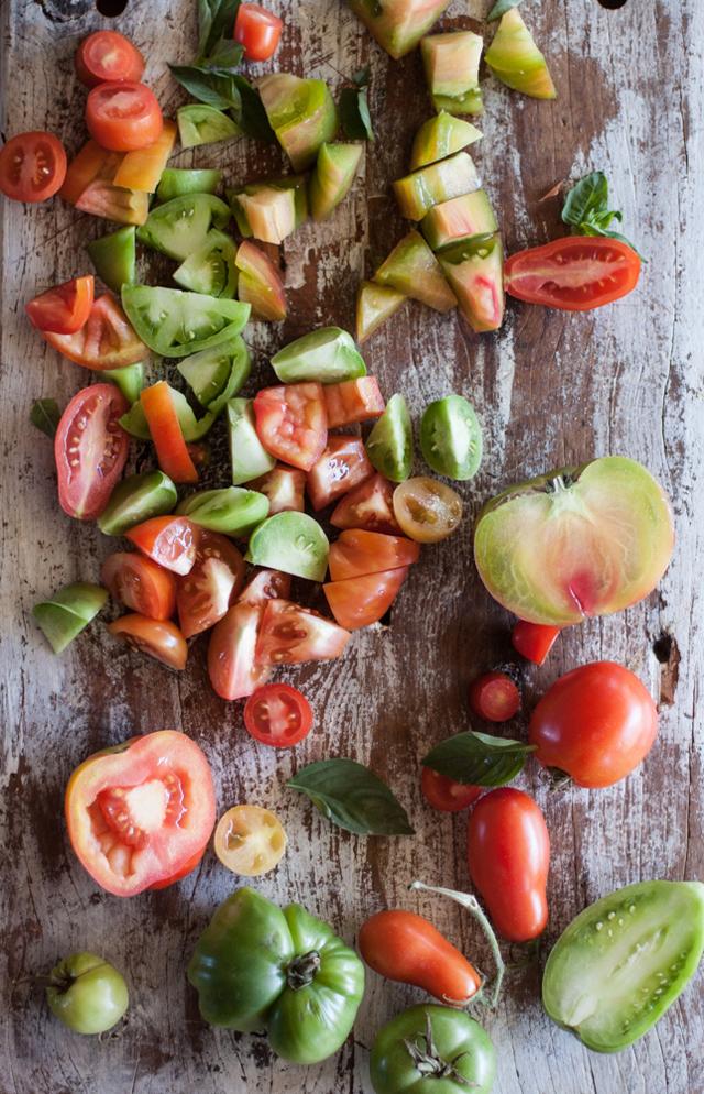salad tomatoes for panzanella