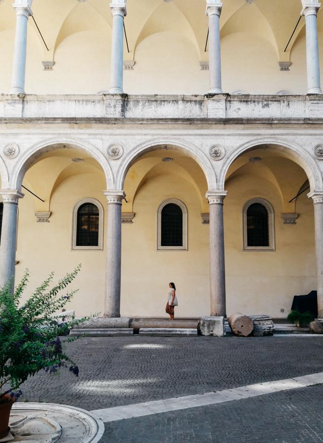 Basilica near Campo dei Fiori