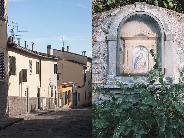 Settignano streets