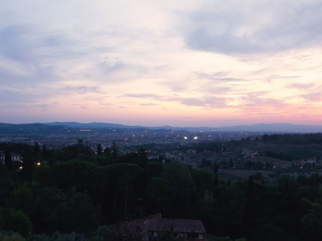 Settignano sunset