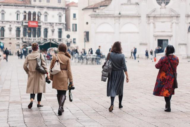 Friends in Venice