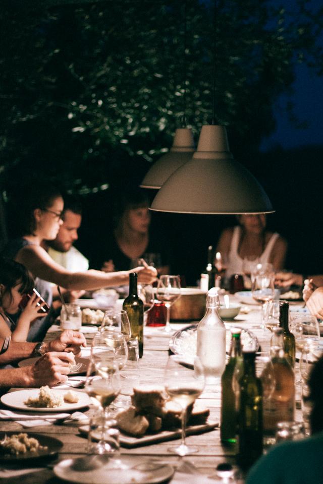 acquacotta dinner at Il Baciarino
