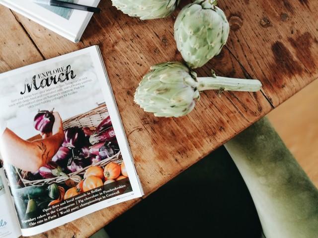 Olive magazine Acquacotta extract