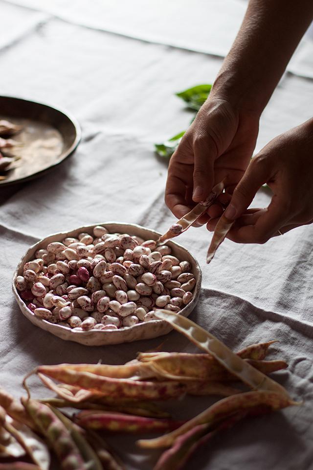 venice podding beans with Valeria Necchio