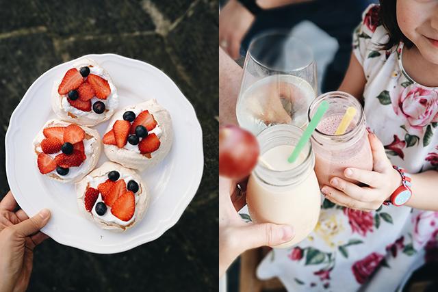Easter-pavlova-and-drinks