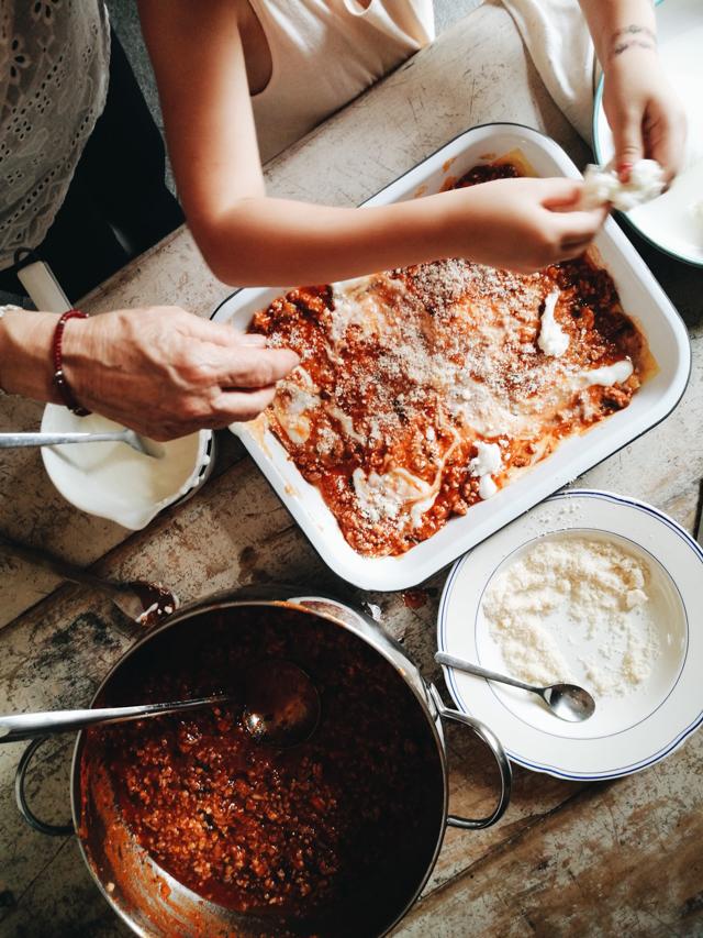 Angelas lasagne