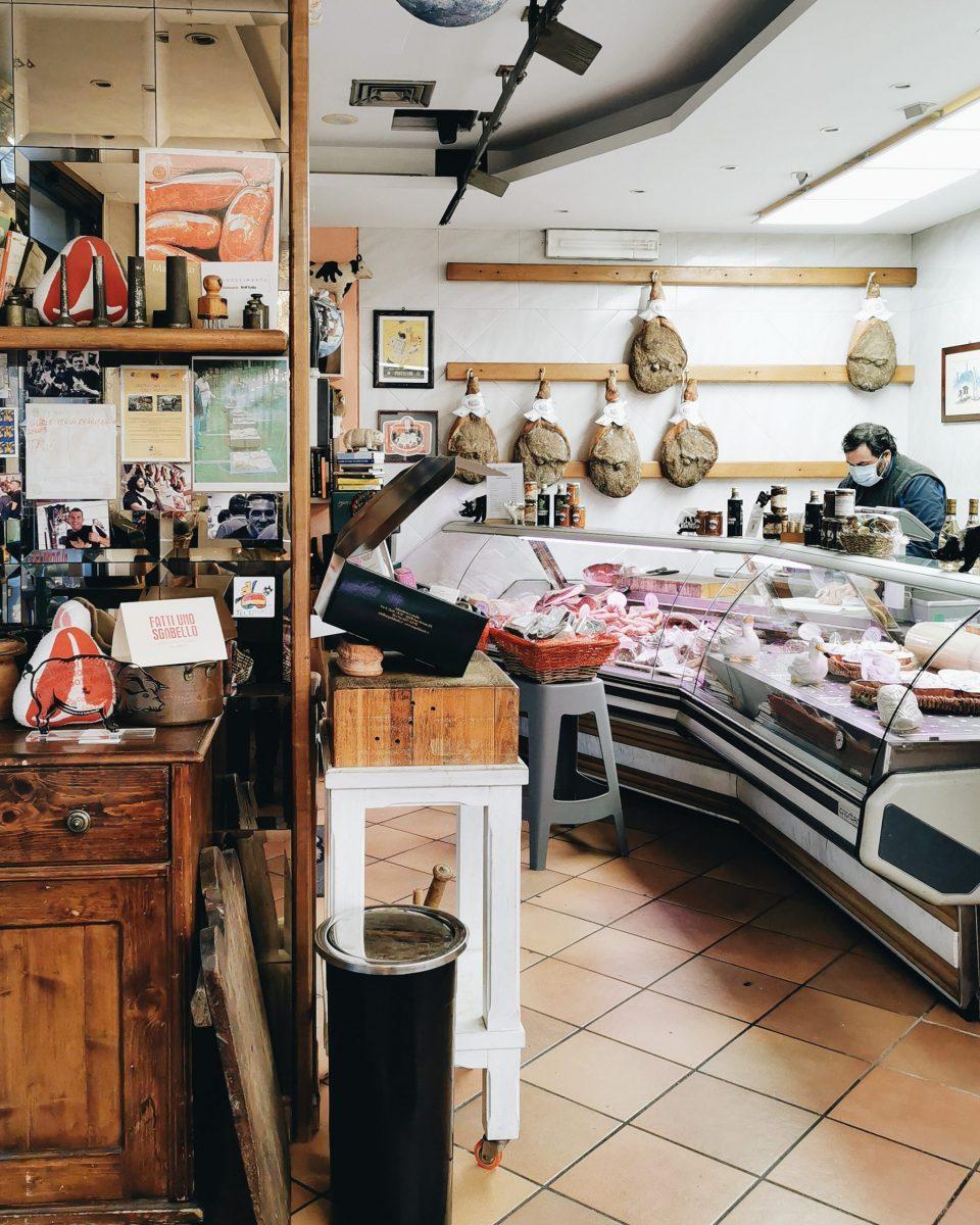 Falaschi butcher shop